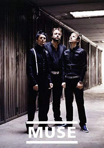 Muse Black Revelations Foto Poster Band Drohnen 2. Gesetz Tour 007 (A5-A4-A3) - A5