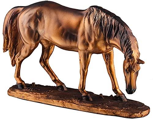 Para oficina jardín sala de familia ornamentos abstractos figurines arte escultura escultura moderna decoración estatua adornos, decoración de caballos sala de estar gabinete de televisión nórdico est