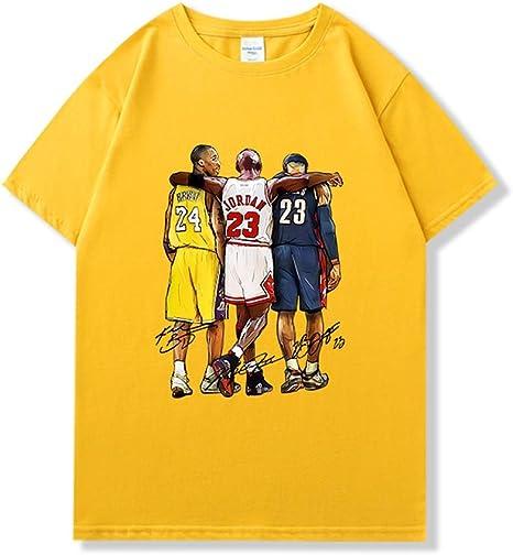 N / A Baloncesto Señor Manga Corta Camiseta de Lebron James ...