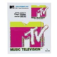 MTV[ステッカー]ビニールステッカー/ピンク&イエロー