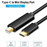 YOUTINGHDAV USB 3.1 Type C to Mini BildschirmPort 4K @60Hz 1.8M   USB C 3.1 to Mini DP USBV3.1