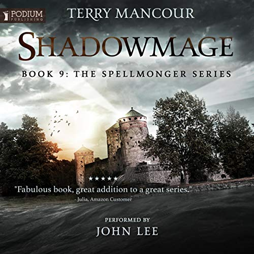 Shadowmage audiobook cover art