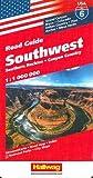 Hallwag USA Road Guide 06. Southwest 1 : 1 000 000: Southern Rockies. Canyon Country. Straßenkarte. Road map. Index. National Parks. City Maps.: Grand ... Arches, Mesa Verde (Hallwag Strassenkarten)