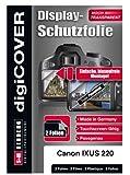 digiCOVER - Protector de Pantalla para Canon Digital IXUS 220 HS