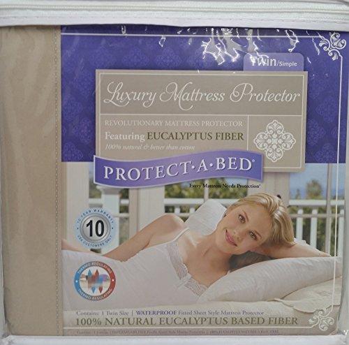 Protect-A-Bed Protège-matelas imperméable pour lit double