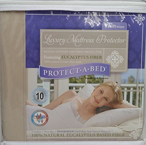 Protect-A-Bed Protector de colchón Impermeable, Doble