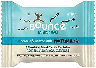 Bounce Coconut & Macadamia Protein Bliss Ball - 40g