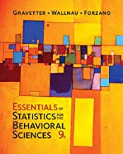 MindTap Psychology, 2 terms (12 months) Printed Access Card for Gravetter/Wallnau/Forzano's Essentials of Statistics for The Behavioral Sciences, 9th
