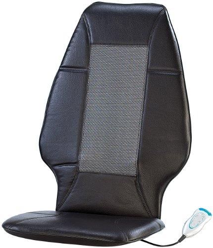 newgen medicals Massage Sitzauflage 12V: Fernbedienbare Shiatsu-Massageauflage MA-200, 12/230V (Shiatsu-Massage-Sitzauflage)