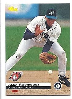 ALEX RODRIGUEZ 1994 Classic #100 Rookie Card RC New York Yankees Appleton Foxes Baseball