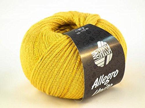 Lana Grossa Allegro Unito Farbwahl Trendgarn 2014/2015 (112 - Senf)