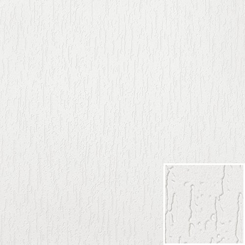 A.S. Création Strukturprofiltapete Simply White 4 Tapete 15,00 m x 0,53 m weiß Made in Germany 272515 2725-15
