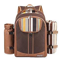 Eono by Amazon - picnic backpack picnic bag picnic set
