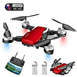 Drone con Telecamera, Mini Drone con 4K 1080P HD FPV Wi-Fi per Video, Headless...