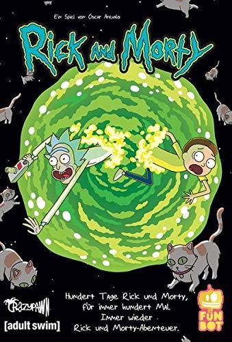 Crazy pawn Mesa Juego 10 Días Rick & Morty, Multicolor (8436564810182)