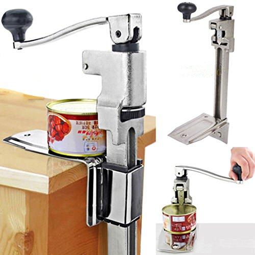 Apriscatole professionale manuale Apriscatole da banco in Acciaio Inox Apriscatole gastronomia Apriscatole da tavolo