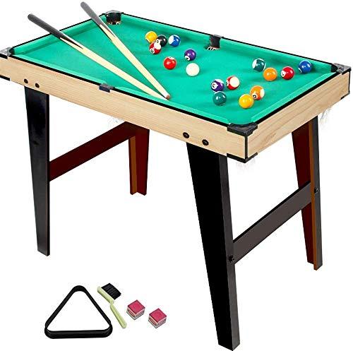 Piarner 31-Zoll-Billardtisch Kinder Billard Spielzeug Großes Innen Zuhause Puzzle Freizeit Billardtisch Doppel Multiplayer Interaktives Spiel Desktop-Toy Billardtisch