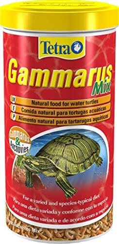 Tetra Gammarus Mix 1 L - Comida natural para tortugas acuáticas