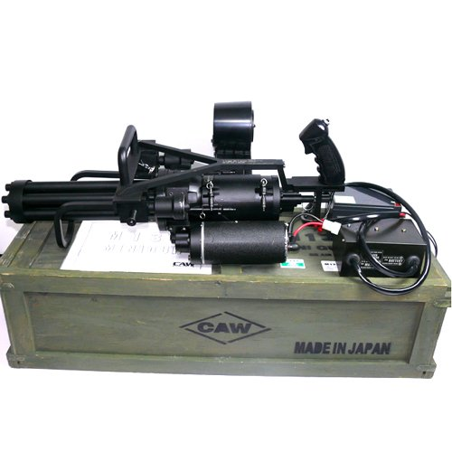 [CAW] M134 ミニガン