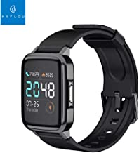 Global Version Haylou LS01 Smart Watch Heart Rate Fitness Tracker IP68 Waterproof Bracelet 210mAh 14 Days Standby Mi Smart Watch LS01 for Android iOS Phone