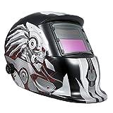 Cappuccio oscurante automatico per casco da saldatura ad energia solare con gamma di tonalità regolabile 4/9-13 per maschera saldatore Mig Tig Arc (Soldato Meccanico)