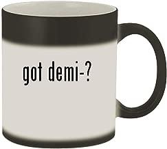 got demi-? - 11oz Magic Color Changing Mug, Matte Black
