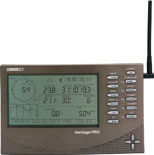 Davis  vantage pro 2 weather station negro