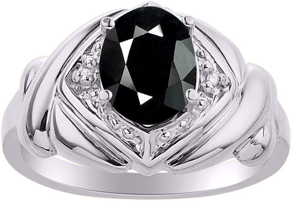 RYLOS 大幅にプライスダウン Rings for Women 開催中 Silver Ring Gemst 9X7MM Hugs XOXO Kisses
