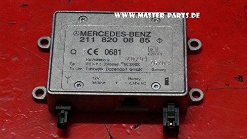 Mercedes W211 W220 W163 Steuergerät Kompensator Antennenverstärker 2118200885
