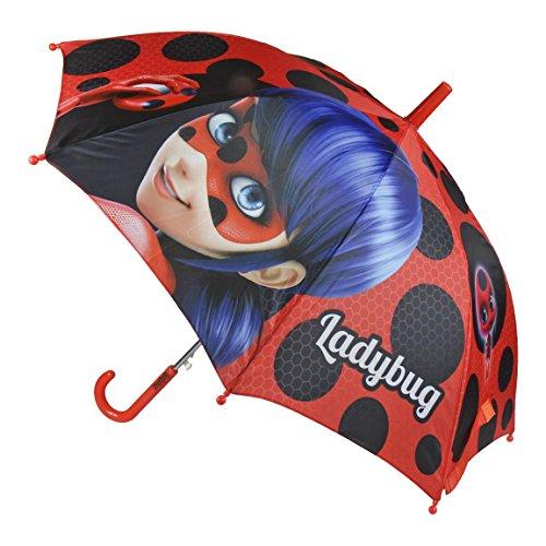 Cerdá-2400000357 Paraguas, Color (Rojo 001), One Size (Tamaño del Fabricante:Única) (2400000357-001)