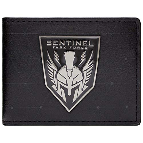 Cartera de Activision Call Of Duty Advanced Warfare Sentinel Badge Negro