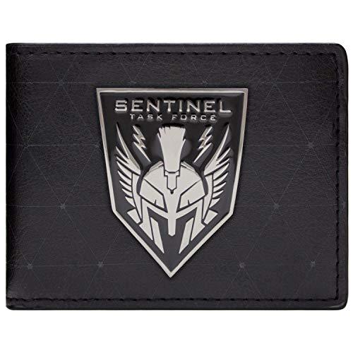 Activision Call of Duty Advanced Warfare Sentinel-Abzeichen Schwarz Portemonnaie Geldbörse