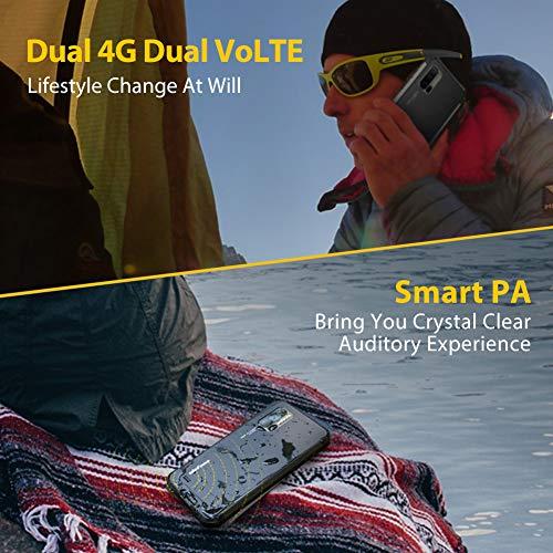 Android 10 Smartphone Incassable, 8Go + 128Go, 48MP Caméras Arrière Triple, Helio P90 Octa-Core, FHD 6,3 Pouces, Ulefone Armor 7, Telephone Portable Incassable Débloqué 4G, NFC, Charge sans Fil