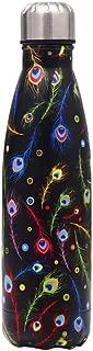 Newday1 Botella de Agua de Mantiene Bebidas frías por 24h y Calientes por 12h 500ML de Doble Pared con Aislamiento de Botella de Agua de Acero Inoxidable Sin BPA Water Bottles