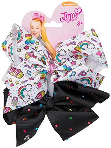 Sambro JOJO Boog Haaraccessoires met een veilige Clip voor Kinderen Meisjes, Multi kleuren