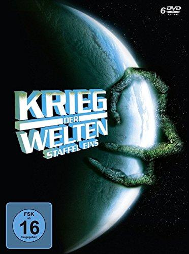 Krieg der Welten - Staffel 1 (23 Folgen, remastered, deutsche & englische Sprachfassung, Digipak) [6 DVDs]