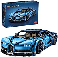 LEGO Technic Bugatti Chiron 42083 Race Car Building Kit and Engineering Toy, Adult Collectible Sports Car with Scale...