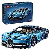 LEGO- Bugatti Chiron, Voiture de Sport Réplique Exclusive Numéro de Série Unique, Modèle à Collectionner Technic Jeux de Construction, 42083, Multicolore