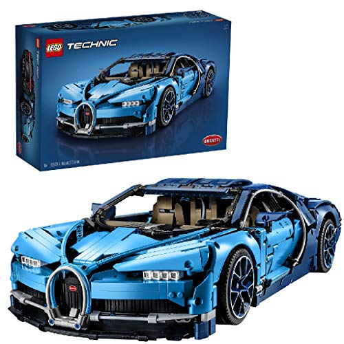 LEGO 42083 Technic Bugatti Chiron, Supersportwagen, exklusives Sammlermodell, Bauset für Fortgeschrittene