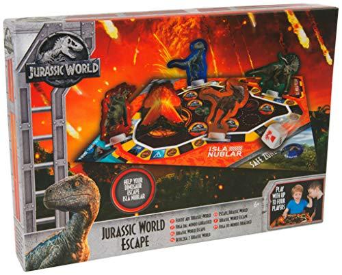 Jurassic World Il Regno Distrutto Gioco da Tavolo per Bambini con Dinosauri