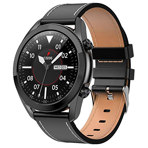 BNMY Smart Watch, Fitness Tracker with Heart Rate Monitor, Activity Tracker with 1.3 Inch Touch Screen, IP67 Waterproof Pedometer Smartwatch with Sleep Monitor, Step Counter for Women And Men,E