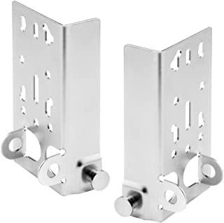 Prime-Line GD 52197 Bottom Lifting Brackets without Fasteners and 7/16-Inch Stem, (Pack of 2)