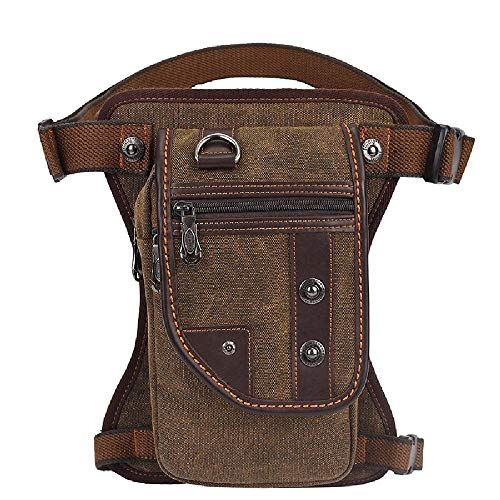 Men's Chest Bag Waist Bag Outdoor Cross Leg Bag Sports Canvas Bag