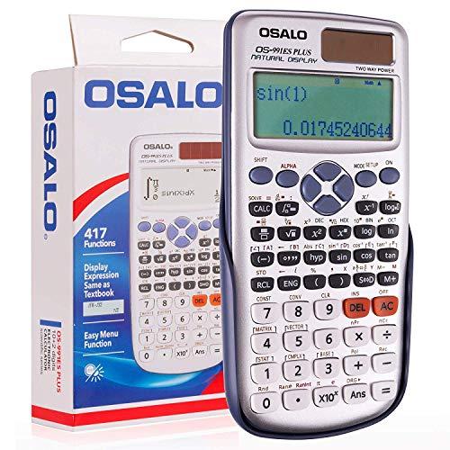 Calculadora científica OSALO OS-911ES PLUS (417...