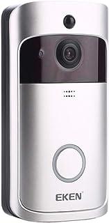 IPOTCH 2.4GHz Wifi Video DoorBell Ring V5 Wireless 720p HD Audio Bidirezionale Angolo 166 ° Vie