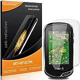 4 x SWIDO® Protector de pantalla Garmin eTrex Touch 35 Protectores de pantalla de película 'AntiReflex' antideslumbrante