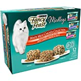 Purina Fancy Feast Wet Cat Food Variety Pack, Medleys White Meat Chicken in Sauce Collection - (12) 3 oz. Cans