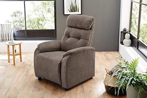 lifestyle4living Relaxsessel in Braun, Antik-Leder-Optik, Komfortschaum Polsterung und Wellenfedern | Perfekter Sessel für entspannte Fernseh-Abende