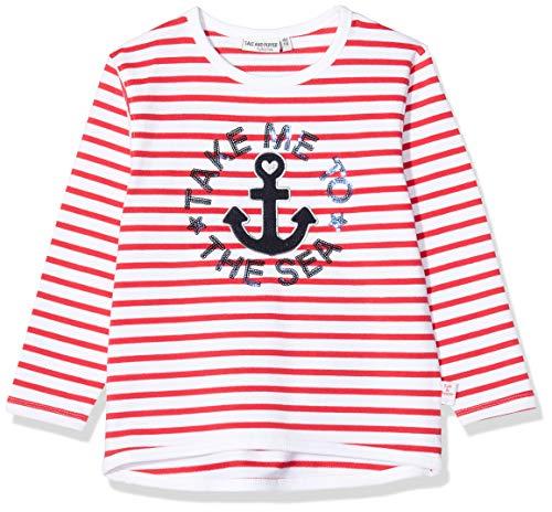 Salt & Pepper Mädchen 03111230 Sweatshirt, Rot (Lollipop Red 344), (Herstellergröße: 104/110)