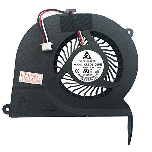 Lüfter Kühler Fan Cooler kompatibel für Samsung RV720 S04DE, RV720 S07DE, RV720 S0BDE, RV720 S06DE, RV720 S02DE, RV720 S08DE, RV720 S05DE, RV720 A02DE, RC710 S04, RC710 S05